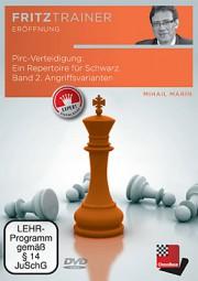 Chessbase, Marin - Pirc Verteidigung:Ein Repertoire für Schwarz Band 2