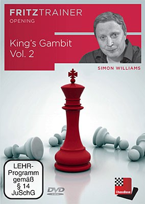 Chessbase, Wiliams - King's Gambit Vol.2