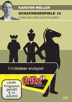 Chessbase, Müller - Schachendspiele 10 Turm und zwei Leichtfiguren