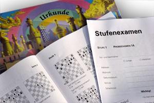 Stappenmethode, Examen und Urkunde Stufe 5