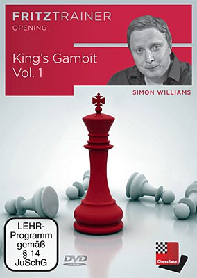 Chessbase, Wiliams - King's Gambit Vol.1
