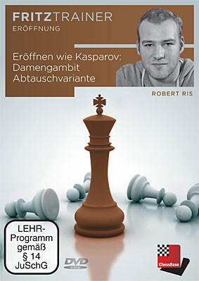 Chessbase, Ris - Eröffnen wie Kasparov: Damengambit Abtauschvariante