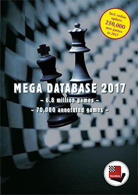 Chessbase Megabase 2017 Update für CBM-Abonnenten
