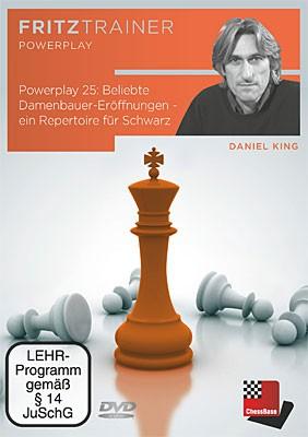 Chessbase, King Powerplay 25 Beliebte Damenbauer-Eröffnungen