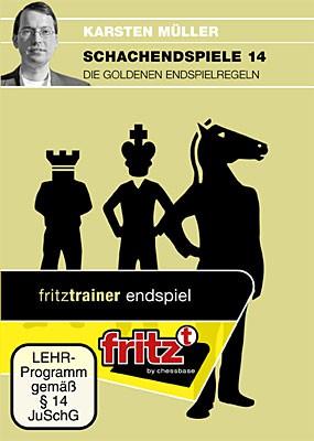 Chessbase, Müller - Schachendspiele 14 , Die goldenen Endspielregeln