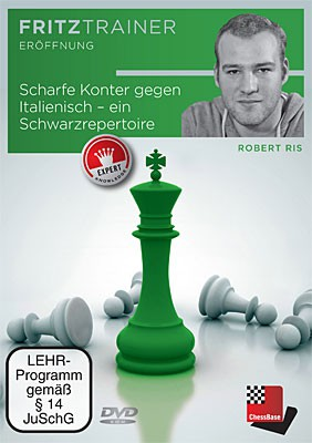 Chessbase, Ris - A Black repertoire against the Two Knights