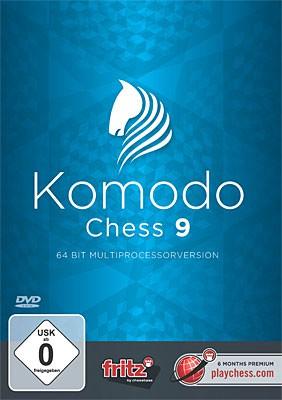 Chessbase, Komodo 9 Update von Komodo 8