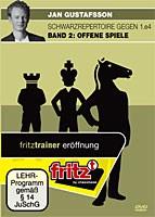 Chessbase, Gustafsson - Schwarzrepertoire gegen 1.e4 Bd.2: Offene Spiele