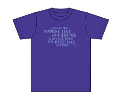 T-Shirt Worst day (indigo)