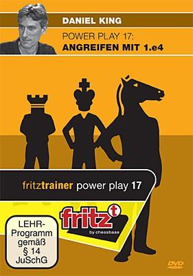 Chessbase, King- Power Play 17 Angreifen mit 1.e4