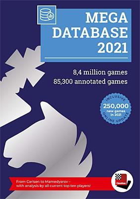 Chessbase, Megabase 2021