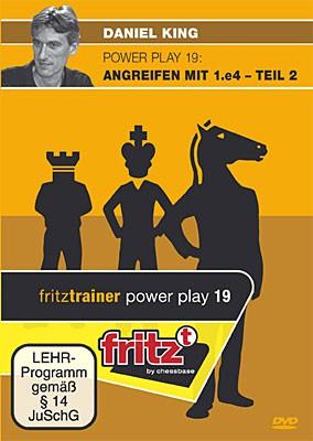 Chessbase, King - Powerplay 19 Angreifen mit 1. e4 ? Teil 2