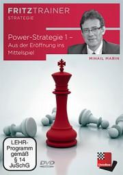 Chessbase, Marin - Power-Strategie 1 ? Aus der Eröffnung ins Mittelspiel