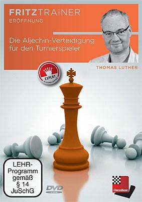 Chessbase, Luther - Die Aljechin-Verteidigung für den Turnierspieler