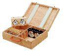 Holzkoffer für Schachuhren
