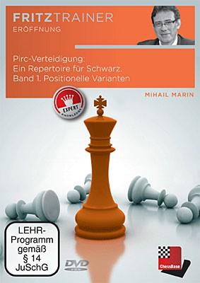 Chessbase, Marin - Pirc Verteidigung:Ein Repertoire für Schwarz Band 1
