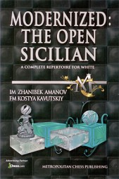 Amanov-Kavutskiy, Modernized: The Open Sicilian