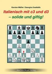 Müller-Souleidis, Italienisch mit c3 und d3