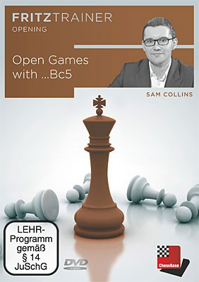 Chessbase, Collins - Open games with ...Bc5
