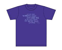 T-Shirt Worst day (indigo)