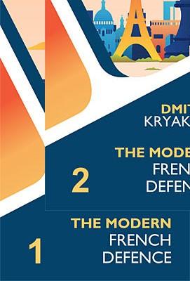 Kryakvin, The Modern French Defence 1+2 Bundle