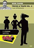 Chessbase, Davies - Tricks & Traps Vol. 2 - 1.d4 Openings