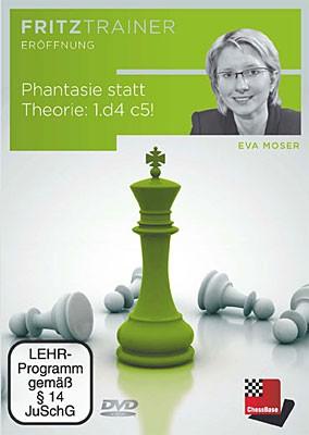 Chessbase, Moser- Phantasie statt Theorie 1.d4 c5