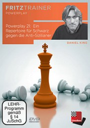 Chessbase, King Powerplay 21 - Repertoire für Schwarz