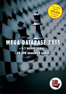Chessbase, Megabase 2015 Upgrade von Mega 2014 für Abonnenten