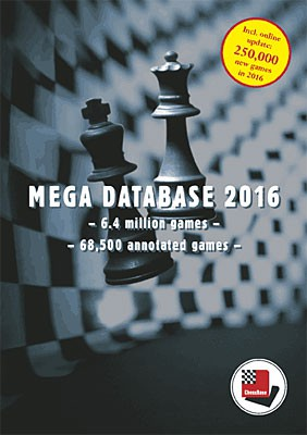 Chessbase, Megabase 2016 Update von Megabase 2015