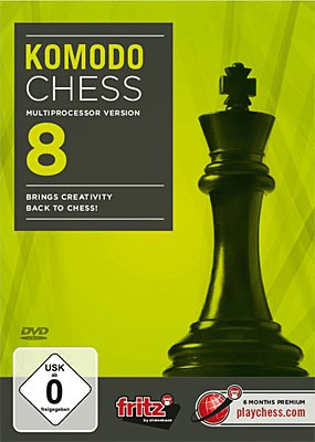 Chessbase, Komodo Chess 8 - Multiprocessor version